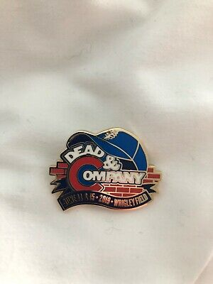 Official Dead and Company Pin Wrigley Summer 2019 June 14-15