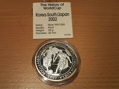 Silver (.999), World Cup Medal 2006 (Japan), UNC, PS4687