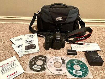 Canon EOS 6D 20.2MP Digital SLR Camera - (Body Only) **Very LOW Shutter Count**
