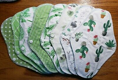 Set/8 Reusable Menstrual Pads NWOT Momma Cloth  Southern Life