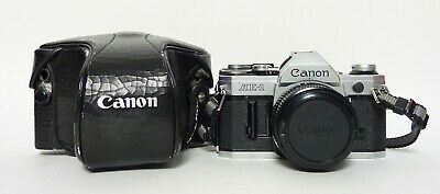 Canon AE-1 with Canon 50mm F1.8 Lens in Case