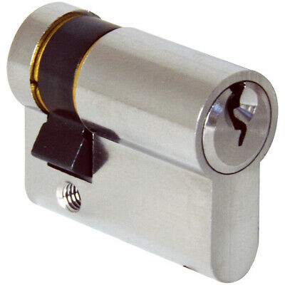Half Cylinder BS1303 6 Pin cylinder Garage Door Single Euro Cylinder 35//10