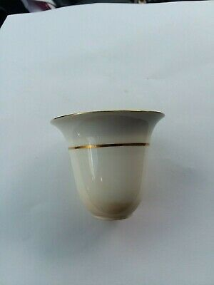 Old Vintage Minton China Tiffany & Co New York Gold Encrusted Demitasse Sake Cup