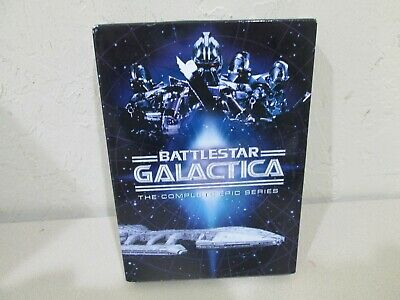 Battlestar Galactica: The Complete Epic Series Boxed Set, Nice Condition.