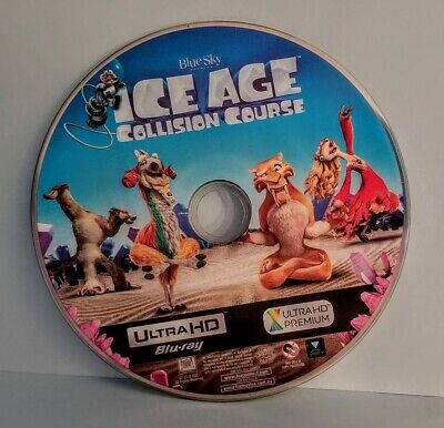 Ice Age Collision Course 4K Ultra Hd Disc Only