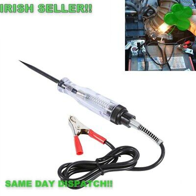 Electrical Wire Circuit Tester Car Truck Auto Voltage Probe Pen 6V 12V 24V Volt