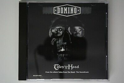 DOMINO Tales From The Hood MCA CD Single VG++ PROMO RARE