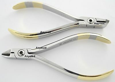 Distal End TC Cutter Ligature Wire Cutter Orthodontic Lab Dental Pliers Germany