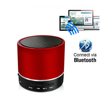 Rechargeable Portable Wireless Bluetooth Speaker with Night Lights Super Bass