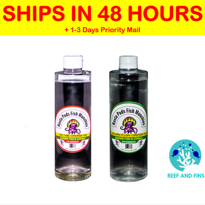 2 Bottles of Live Tisbe and Apocyclops Copepods. FREE SHIPPING!!!