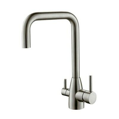 Hommix Olaf Brushed 3-Way Tap (Triflow Tap) Quality Water Filter Tap