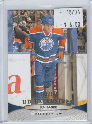 "Ben Eager 2011-12 UD Series 2 #385 Edmonton Oilers ""EXCLUSIVES"" /100"