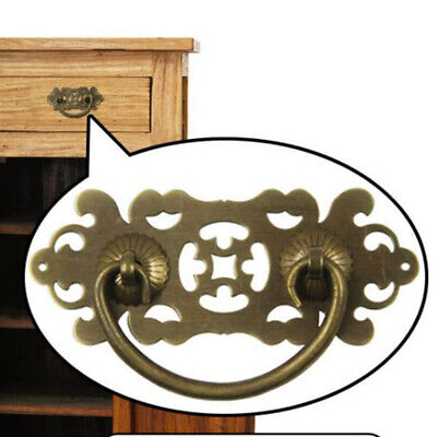 Chinese Furniture Cabinet Door Handle Brass Retro Handle Drawer Pull Knocker