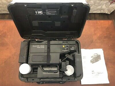 Vintage Sears Solid State VHS Movie Video Camera With Case