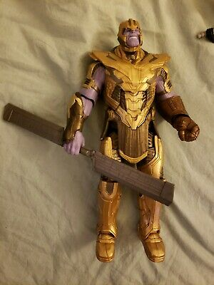 Marvel Legends 2019 Hasbro Avengers Endgame Armored Thanos BAF Complete Figure