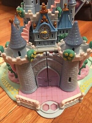Bluebird 1995 Polly Pocket Disney Cinderella Enchanted Castle No Figures Vintage