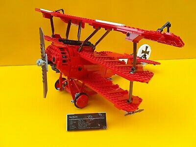 CUSTOM STICKERS for LEGO 10024 The red barron Fokker Pre-Cut