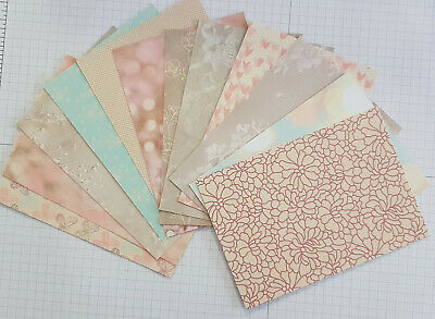 So In Love DSP Paper | 12 Card Fronts | Stampin Up