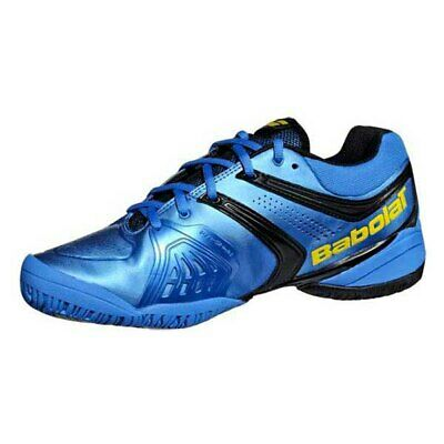 BRAND NEW Babolat Mens V-Pro 2 All Court Tennis Shoes - Blue/Yellow US SIZE 8
