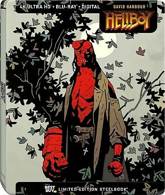 Hellboy Steelbook 4K UHD + Blu-ray + Digital 2019 Pre-order
