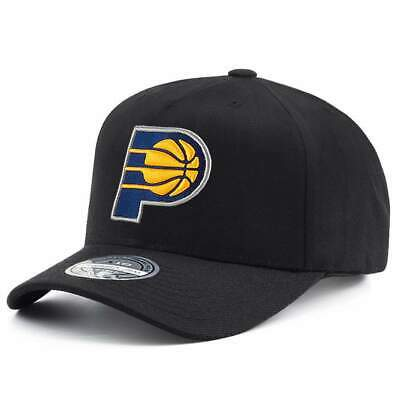 timeless design 99f1d 541f9 Indiana Pacers Mitchell   Ness NBA 110 Logo Snapback Hat - Black