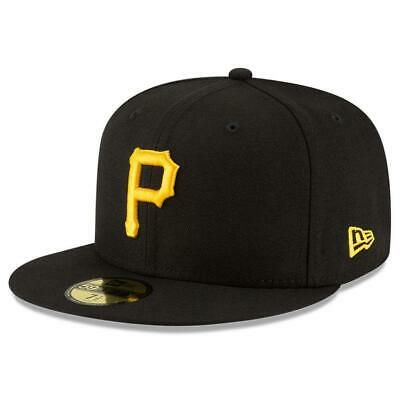 on sale ba56e e2548 Pittsburgh Pirates New Era MLB AC On-Field 59FIFTY Fitted Hat - Black