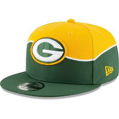 newest 043fd 39204 Green Bay Packers New Era 2019 NFL Draft 9FIFTY Snapback Hat – Green