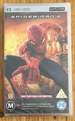 PSP Spider-Man 2 UMD Video | PlayStation Portable Movie | Brand New & Sealed!