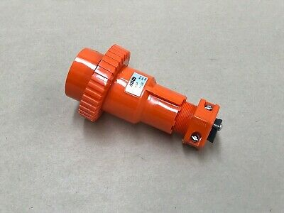 Wilco Wip410B Weather Insulated  Hi-Impact Plug 10A 55V 4 Round Pins