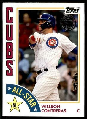2019 Topps Series 2 1984 All-Stars #84AS-WC Willson Contreras