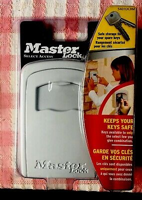 MASTER LOCK 5401 Standard Wall Mounted Key Safe Security