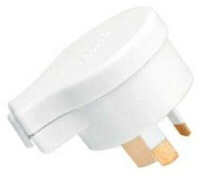 Clipsal SIDE ENTRY PLUG TOP 10A 250V 3-Pin Insulated Active & Neutral Pins WHITE