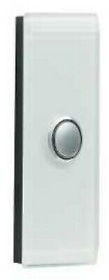 Clipsal SATURN 4000-SERIES GRID & COVER 1-Gang Architrave HORIZON SILVER