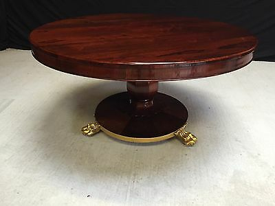 Stunning William Iv Rosewood Table Professionally Hand French Polished