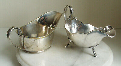 Vintage  Mappin & Webb Princess Plate gravy boat plus one other