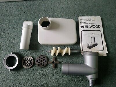 Kenwood Chef Mixer A920 Mincer Tool Attachment Sausages Grinder A901 900