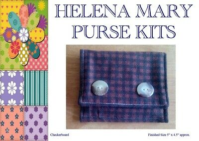 Helena Mary Purse Making Kit Complete Kit - Checkerboard Purse