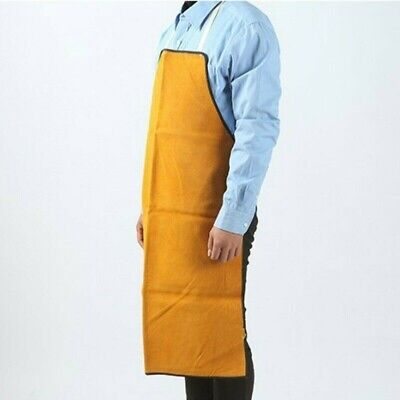 Welding Long Leather Apron Soldering Workwear Solder Protection Accessories