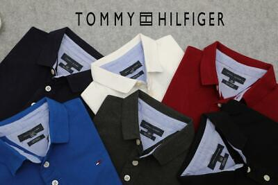 Tommy Hilfiger Polo Short Sleeve Collared Neck 100% Cotton
