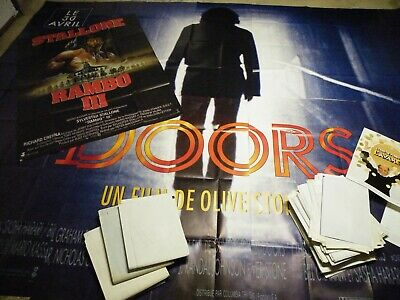 lot 20 kg d affiches de cinema