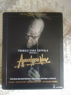 blu ray Apocalypse now 2 dischi steelbook audio ita