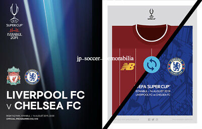 Liverpool v Chelsea - UEFA Super Cup Final - 14 August 2019 - Pre-Order Now