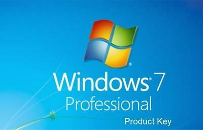 Windows 7 Professional Sp1 Esd License Key Lifetime Activation 32I64 Bits 1 Pc