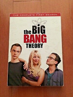 TBBT The Big Bang Theory COMPLETE Season 1!  Authentic DVD