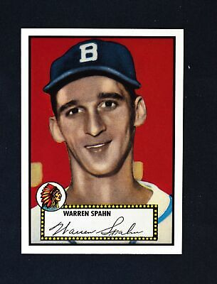 2019 Topps Series 2 Iconic Card Reprints #ICR-57 Warren Spahn