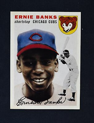 2019 Topps Series 2 Iconic Card Reprints #ICR-62 Ernie Banks