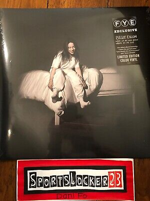 Billie Eilish When We All Fall Asleep Opaque Baby Blue Vinyl Rare Limited