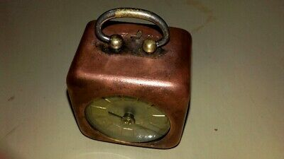 Antique Table Desk Clocks For Parts Very Rare