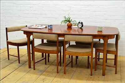 teak chair chairs dining McIntosh set of 6 vintage mid century danish UKDELIVERY