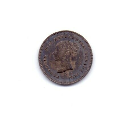 1838 Queen Victoria Silver Twopence Coin 2d